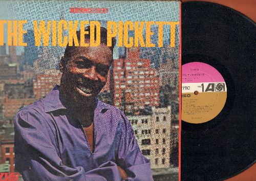 Pickett, Wilson - The Wicked Pickett: Mustang Sally, Sunny, Knock On Wood, Ooh Poo Pah Doo, New Orleans (vinyl STEREO LP record) - VG7/VG7 - LP Records