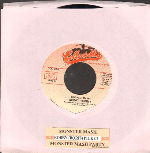 Pickett, Bobby (Boris) & The Crypt Kickers - Monster Mash/Monster Mash Party (re-issue with juke box label) - NM9/ - 45 rpm Records