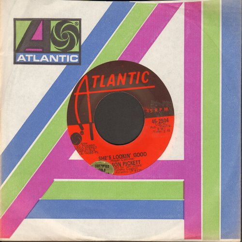 Pickett, Wilson - She's Lookin' Good/We've Got To Have Love (with Atlantic company sleeve) (sol) - NM9/ - 45 rpm Records