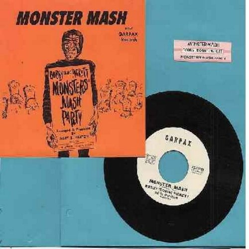 Pickett, Bobby (Boris) - Monster Mash/Monsters' Mash Party (authentic-looking re-issue of Vintage Halloween Novelty with picture sleeve and juke box label) - M10/M10 - 45 rpm Records