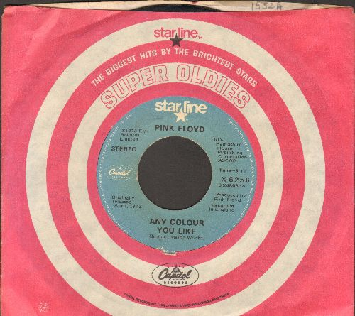 Pink Floyd - Any Colour You Like/Money (re-issue with Capitol company sleeve) - VG7/ - 45 rpm Records