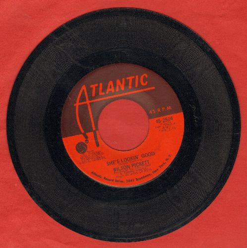 Pickett, Wilson - She's Lookin' Good/We've Got To Have Love - EX8/ - 45 rpm Records