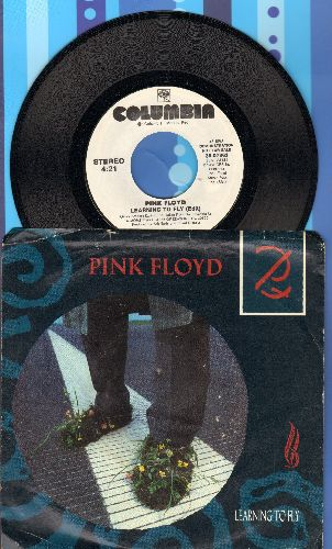 Pink Floyd - Learning To Fly (double-A-sided DJ advance pressing with picture sleeve) - NM9/EX8 - 45 rpm Records