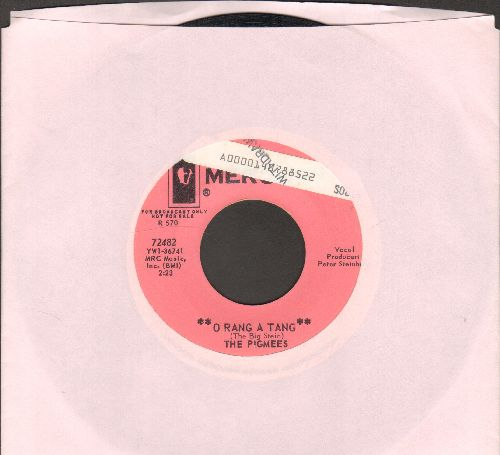 Pigmees - O Rang A Tang/The Whole World Knows When I'm In Love (DJ advance pressing of RARE Psychedelic Novelty two-sider, sol) - EX8/ - 45 rpm Records