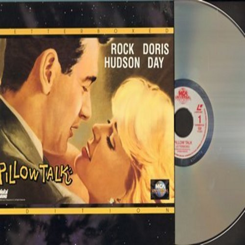 Pillow Talk - Pillow Talk - LASERDISC Letter Box Edition of the Comedy Classic starring Doris Day and Rock Hudson  - This is a LASERDISC, not any other kind of media! - NM9/EX8 - LaserDiscs
