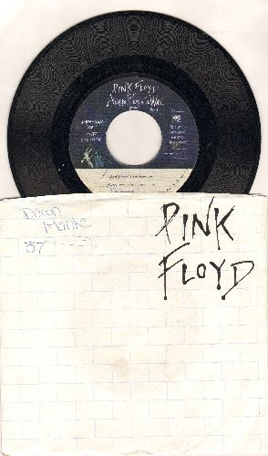 Pink Floyd - Another Brick In The Wall (Part 2)/One Of My Turns (with picture sleeve, wol/wos) - EX8/EX8 - 45 rpm Records