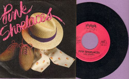 Thompson, Laura - Pink Shoe Laces (FANTASTIC cover version of Dodie Stevens debut hit!) (with picture cover) - NM9/NM9 - 45 rpm Records