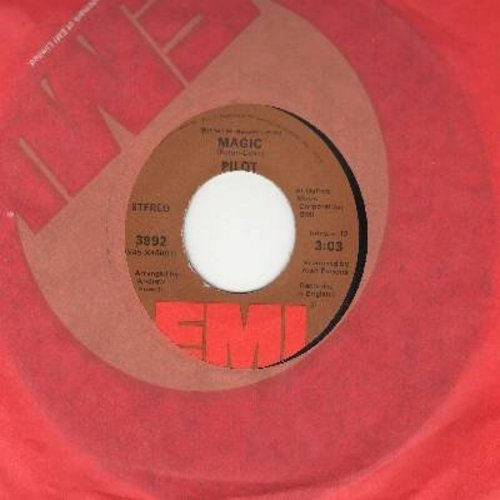 Pilot - Magic/Just Let Me Be - EX8/ - 45 rpm Records