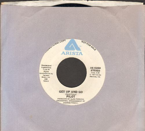 Pilot - Get Up And Go (double-A-sided DJ advance pressing with Arista company sleeve) - NM9/ - 45 rpm Records