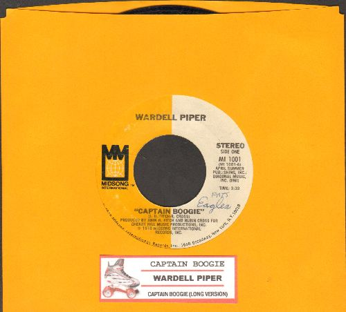 Piper, Wardell - Captain Boogie/Captain Boogie (Long Version) (with juke box label) - NM9/ - 45 rpm Records