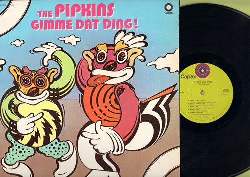 Pipkins - Gimme Dat Ding!: Here Come De Kings, Sunny Honey Girl, Yakety Yak, My Baby Loves Lovin' (Vinyl STEREO LP record) - NM9/NM9 - LP Records