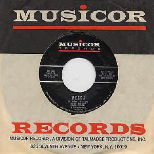 Pitney, Gene - Mecca/Teardrop By Teardrop (with vintage Musicor company sleeve) - NM9/ - 45 rpm Records