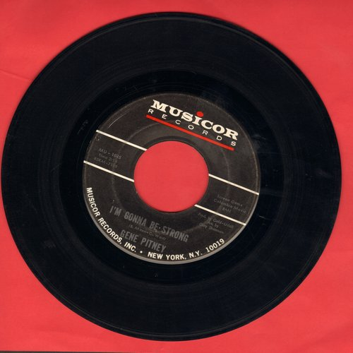 Pitney, Gene - I'm Gonna Be Strong/E Se Domani (minor wol) - VG7/ - 45 rpm Records