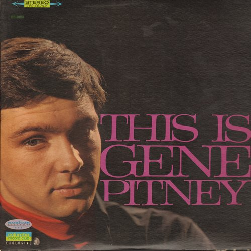Pitney, Gene - This Is Gene Pitney: Every Breath I Take, I'm Gonna Be Strong, Lips Are Redder On You, It Hurts To Be In Love (Columbia Record Club Special 2 vinyl LP set, original 1966 1st issue!)  - M10/EX8 - LP Records