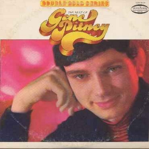 Pitney, Gene - The Best Of Gene Pitney - Double Gold Series (2 vinyl LP record )-  Hello Mary Lou, Town Without Pity, Mecca, The Man Who Shot Liberty Valance, It Hurts To Be In Love, I Wanna Love My Life Away  - NM9/VG7 - LP Records