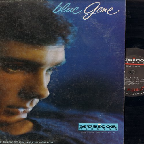 Pitney, Gene - Blue Gene: Twenty Four Hours From Tulsa, Autumn Leaves, I'll Be Seeing You, Lonely Night Dreams, Answer Me My Love - NM9/EX8 - LP Records
