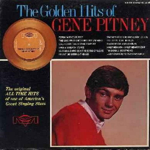 Pitney, Gene - The Golden Hits of Gene Pitney: Town Without Pity, The Man Who Shot Liberty Valence, Every Breath I Take, It Hurts To Be In Love, I'm Gonna Be Strong (vinyl STEREO LP record) - M10/EX8 - LP Records