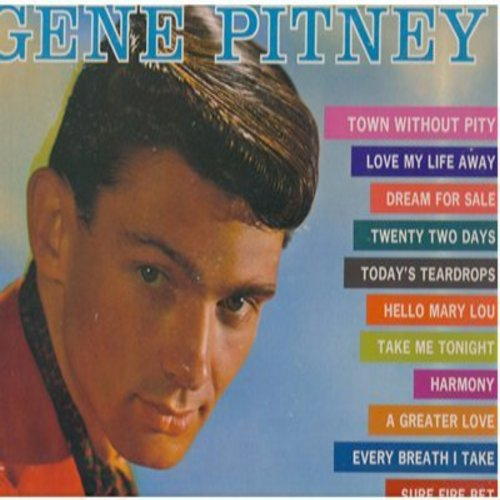 Pitney, Gene - The Many Sides Of: Town Without Pity, Hello Mary Lou, Every Breath I Take, Dream For Sale (Vinyl MONO LP record) - EX8/EX8 - LP Records