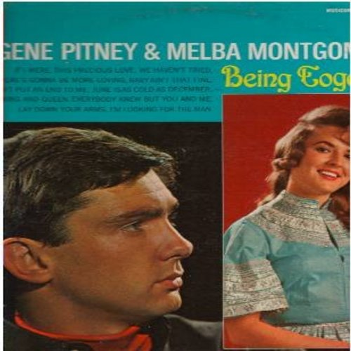 Pitney, Gene & Melba Montgomery - Being Together: This Precious Love, Baby Ain't That Fine, Everybody Knew But You And Me, King And Queen, June Is As Cold As December (Vinyl STEREO LP record) - M10/VG7 - LP Records