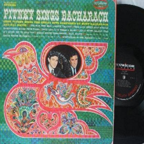 Pitney, Gene - Pitney Sings Bacharach: The Man Who Shot Liberty Valance, Only Love Can Break A Heart, If I Never Get To Love You, True Love Never Runs Smooth (Vinyl STEREO LP record) - NM9/VG7 - LP Records