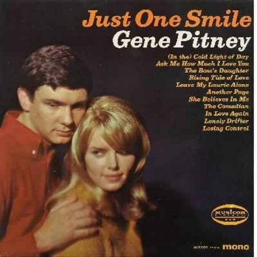 Pitney, Gene - Just One Smile: Leave My Laurie Alone, The Comedian, She Believes In Me, Ask Me How Much I Love You - NM9/EX8 - LP Records
