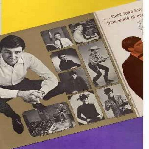 Pitney, Gene - The Gene Pitney Story: Blue Gene, Liberty Valance, E Se Domani, Town Without Pity, I Wanna Love My Life Away (2 vinyl LP record set - original 1968 first issue, counts as 2 LPs) - EX8/VG7 - LP Records