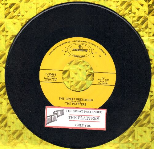 Platters - With This Ring/If I Had A Love (with juke box label and company sleeve) - NM9/ - 45 rpm Records