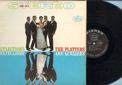 Platters - Reflections: Ebb Tide, Red Sails In The Sunset, Sleepy Lagoon, On A Slow Boat To China, Lazy River, Harbor Lights (Vinyl STEREO LP record) - EX8/EX8 - LP Records