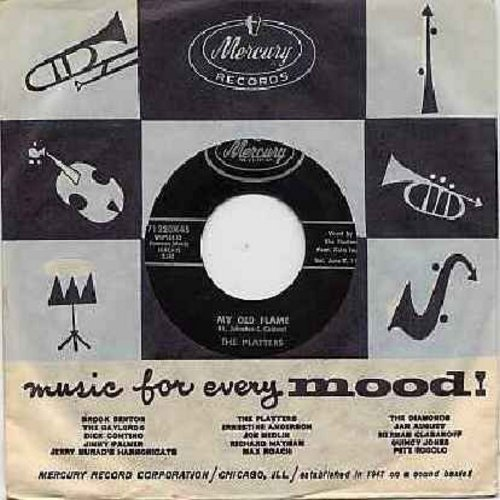 Platters - My Old Flame/You're Making A Mistake (with vintage Mercury company sleeve) - NM9/ - 45 rpm Records