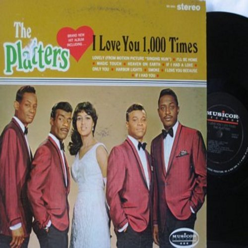 Platters - I Love You 1,000 Times: Heaven On Earth, If I Had You, Only You, Harbor Lights, Magic Touch (Vinyl STEREO LP record) - EX8/EX8 - LP Records