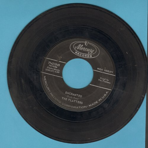 Platters - Enchanted (featured in series -Breaking Bad-)/The Sound And The Fury - G5/ - 45 rpm Records