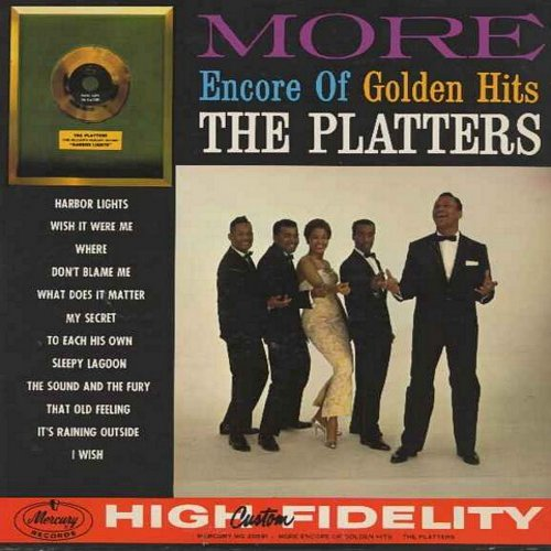 Platters - More Encore of Golden Hits: Harbor Lights, What Does It Matter, Sleepy Lagoon, It's Raining Outside, My Secret, Wish It Were Me (Vinyl MONO LP record) - NM9/EX8 - LP Records