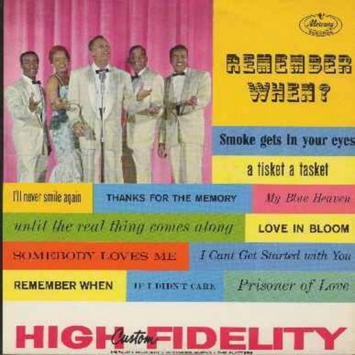 Platters - Remember When?: Prisoner Of Love, Smoke Gets In Your Eyes, If I Didn't Care, Thanks For The Memory, A-Tisket A-Tasket, My Blue Heaven - EX8/NM9 - LP Records