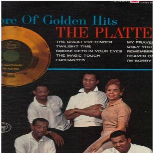 Platters - Encore Of Golden Hits: The Great Pretender, Twilight Time, Smoke Gets In Your Eyes, The Magic Touch, My Prayer, Only You (Vinyl STEREO LP record, 1980s issue of vintage recordings) - NM9/VG7 - LP Records