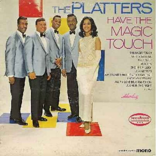 Platters - The Platters Have The Magic Touch: My Prayer, Wish It Were Me, I'm Sorry, One In A Million (Vinyl MONO LP record) - EX8/VG7 - LP Records