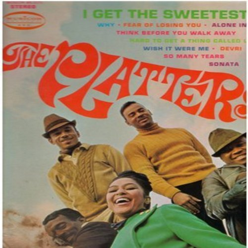 Platters - I Get The Sweetest Feeling: Why, Sonata, So Many Tears, Alone In The Night, Wish It Were Me  (Vinyl STEREO LP record) - NM9/EX8 - LP Records