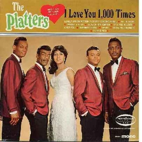 Platters - I Love You 1,000 Times: Heaven On Earth, If I Had You, Only You, Harbor Lights, Magic Touch (Vinyl MONO LP record) - NM9/NM9 - LP Records