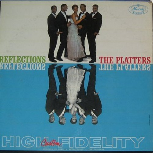 Platters - Reflections: Ebb Tide, Red Sails In The Sunset, Sleepy Lagoon, On A Slow Boat To China, Lazy River, Harbor Lights (Vinyl MONO LP record) - EX8/VG7 - LP Records