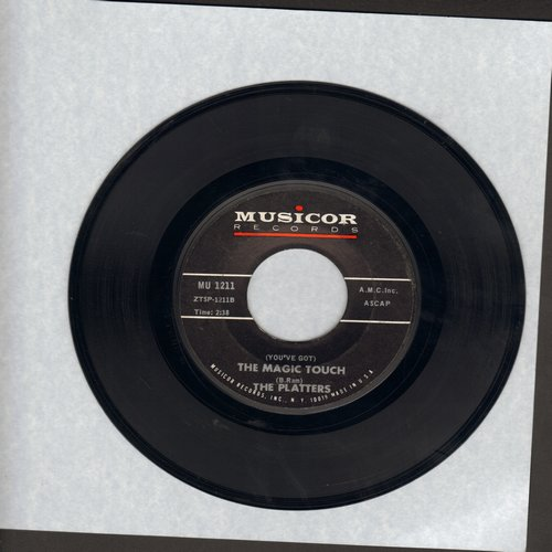 Platters - (You've Got) The Magic Touch/I'll Be Home - NM9/ - 45 rpm Records