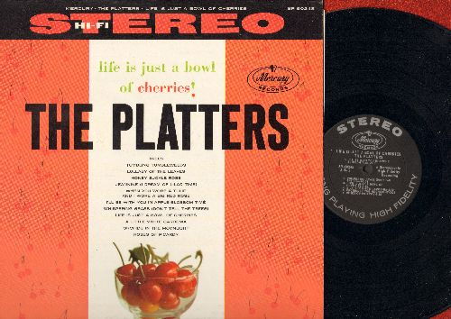 Platters - Life Is Just A Bowl Of Cherries: Trees, Honey Suckle Rose, Jeannie (With The Light Brown Hair), Roses Of Picardy, I'll Be With You In Apple Blossom Time (Vinyl STEREO LP record, original 1960s first issue) - NM9/NM9 - LP Records