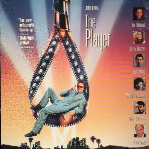 The Player - The Player - Robert Altman's Cult Classic Thriller starring Tim Robbins (This is a set of 2 LASERDISCS, NOT ANY OTHER KIND OF MEDIA!) - NM9/EX8 - LaserDiscs
