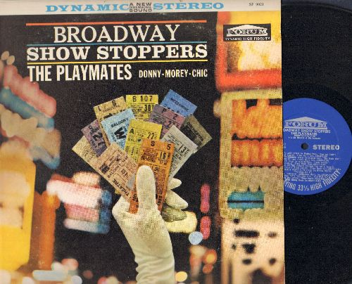 Playmates - Broadway Show Stoppers: Luck Be A Lady, Seventy-Six Trombones, Heart, Standing In The Corner, Get Me To The Church On Time, Hernando's Hideaway, Once In Love With Amy, There Is Nothing Like A Dame (Vinyl STEREO LP record) - NM9/EX8 - LP Record