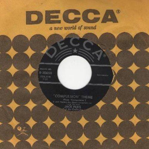 Pleis, Jack - Compulsion Theme/Romantico (with vintage Decca company sleeve) - NM9/ - 45 rpm Records