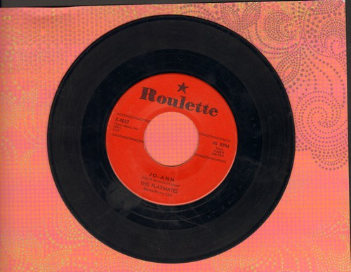 Playmates - Jo-Ann/You Can't Stop Me From Dreaming (red label first issue) - EX8/ - 45 rpm Records