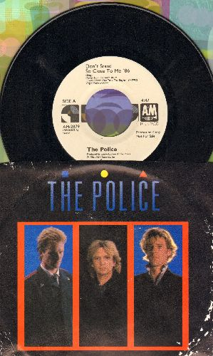 Police - Don't Stand So Close To Me (double-A-sided DJ advance pressing with picture sleeve) - NM9/G5 - 45 rpm Records