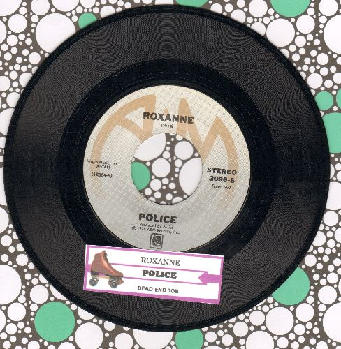 Police - Roxanne/Dead End Job (with juke box label) - NM9/ - 45 rpm Records