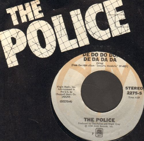 Police - De Do Do Do, De Da Da Da/Friends (with picture sleeve) - NM9/ - 45 rpm Records