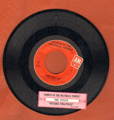 Police - Spirits In The Material World/Flexible Strategies (with juke box label) - NM9/ - 45 rpm Records