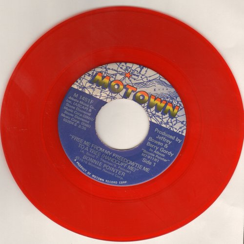Pointer, Bonnie - Free Me From My Freedom/Tie Me To A Tree (Handcuff Me) - RARE red label double-A-sided DJ advance pressing - NM9/ - 45 rpm Records