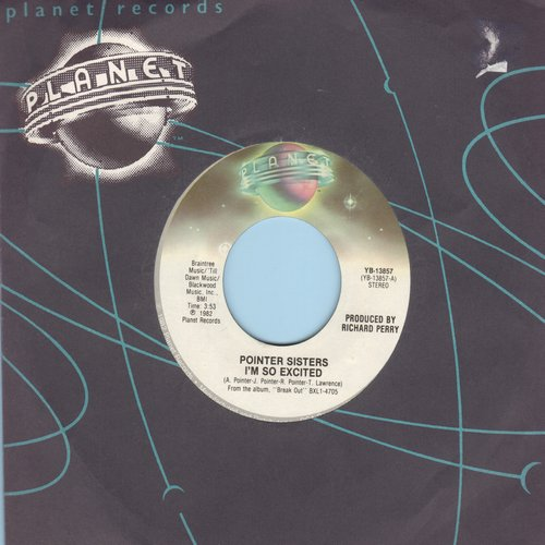 Pointer Sisters - I'm So Excited/Dance Electric - NM9/ - 45 rpm Records